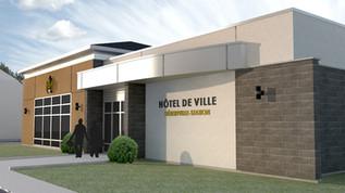HÔTEL DE VILLE, Hébertville-Station