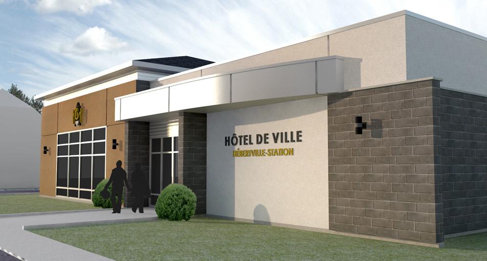 HÔTEL DE VILLE, HÉBERTVILLE STATION