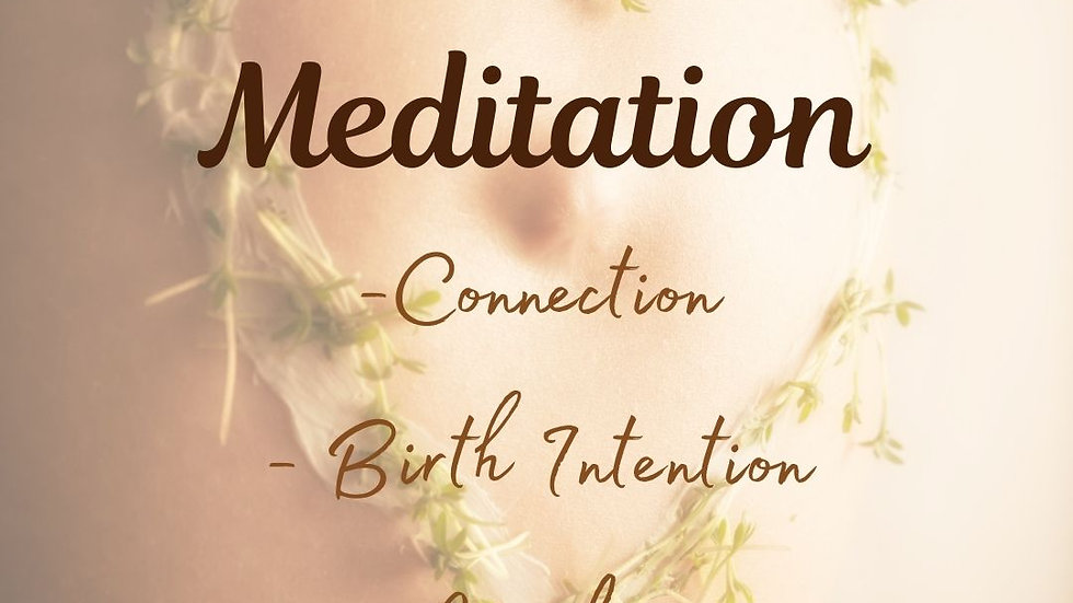 Mum and Bub Meditation Exercise