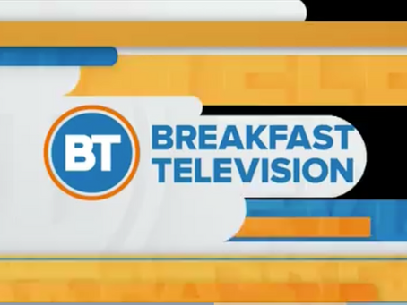 5th Annual Book Ride August 2018/ Breakfast Television
