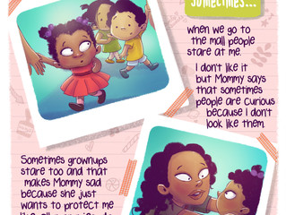 MOM WRITES BOOK TO HELP KIDS TALK ABOUT DIFFERENCES
