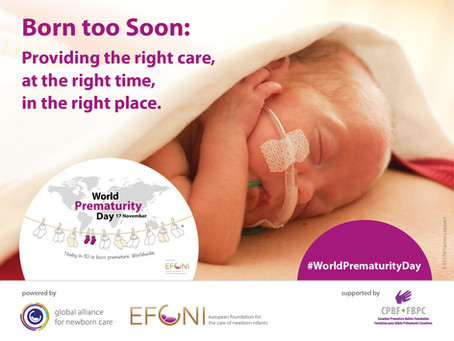 CPBF Celebrates World Prematurity Day with Exciting News!