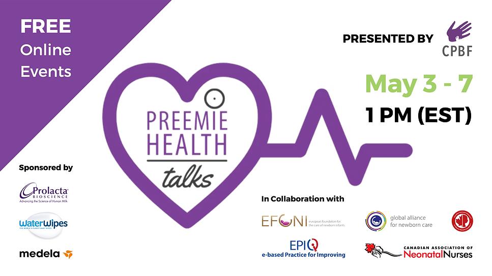 Preemie Health Talks
