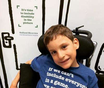 Meet Gabriel - Holland Bloorview Capes For Kids