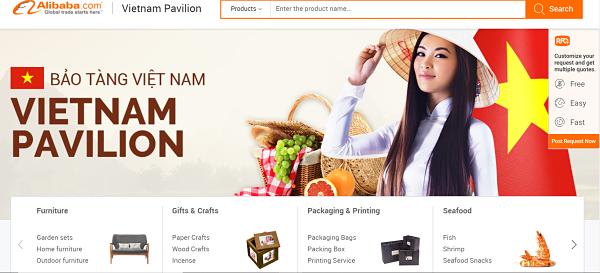 Top Viet Nam business directory Alibaba Viet Nam Pavilion
