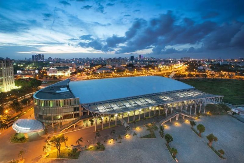 Saigon Exhibition and Convention Center in Ho Chi Minh