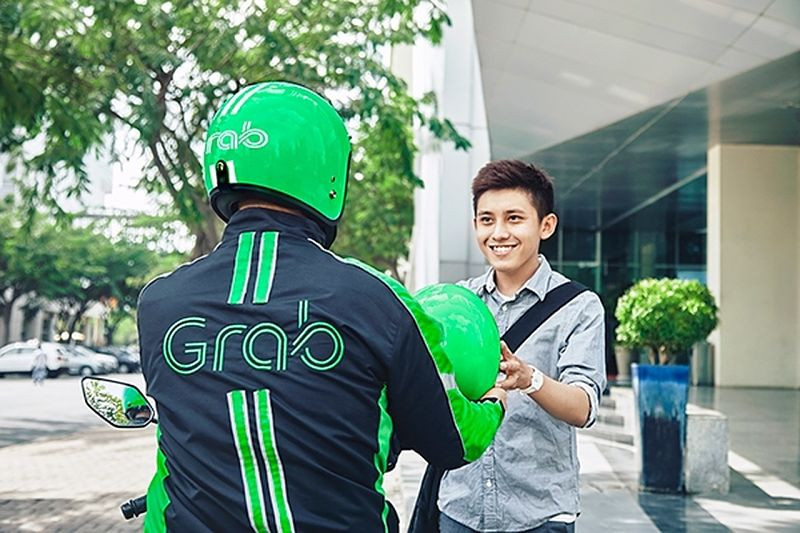 Grab Bike in Ho Chi Minh city