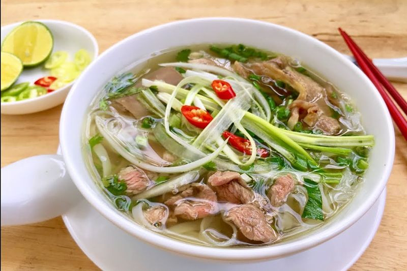 Number food in Viet Nam - Pho