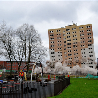 Old Trafford Demolitions