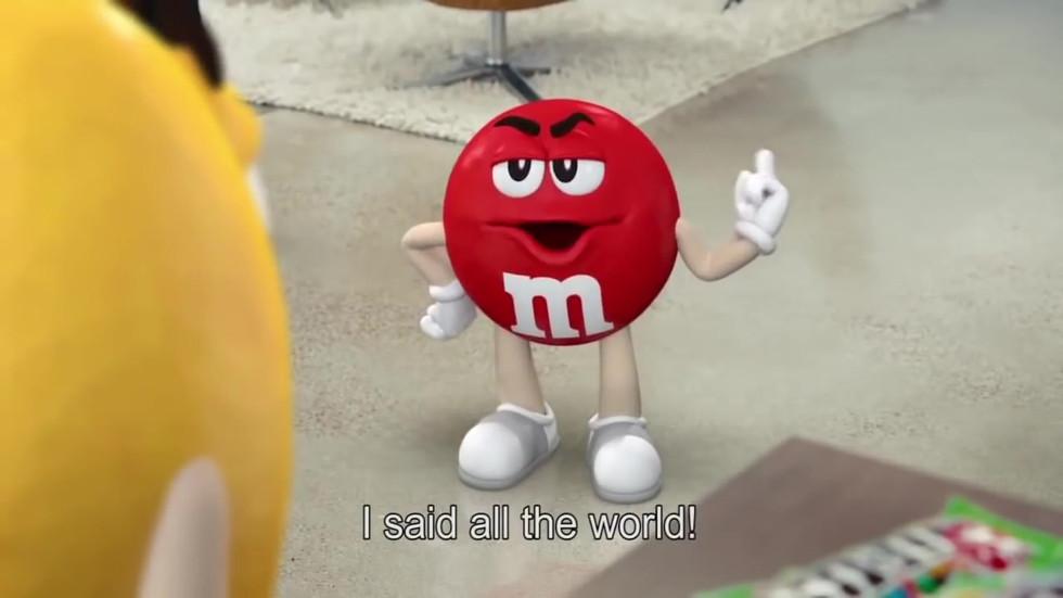 M&M'S GLOBE (LATINO)