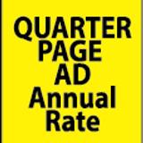 Quarter Page Ad Annual