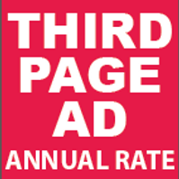 Third Page Ad Annual