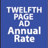 Twelfth Page Ad