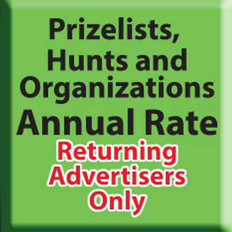 Hunts, Prizes & Non Profits Returning Advertisers