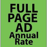 Full Page Ad Annual
