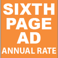 Sixth Page Ad Annual