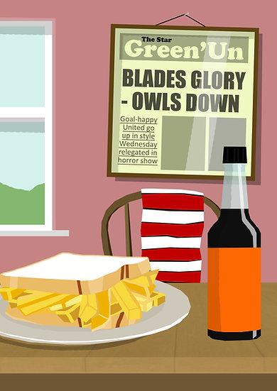 Blades Glory - Owls Down