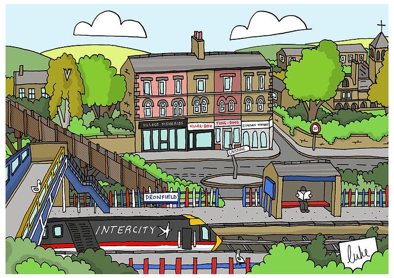 Dronfield Station