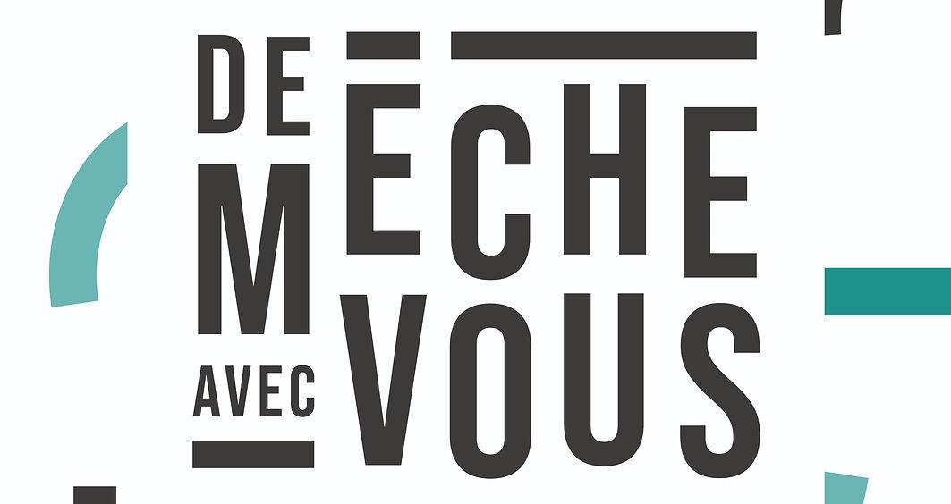 Logo de meche avec vous Rezé