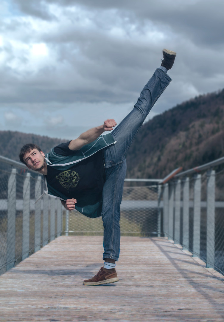 Anthony high kick
