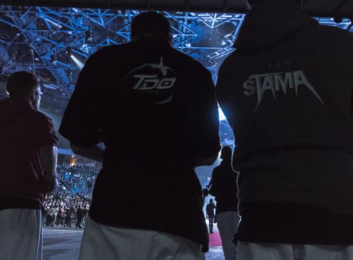 La Team STAMA se produit à Bercy