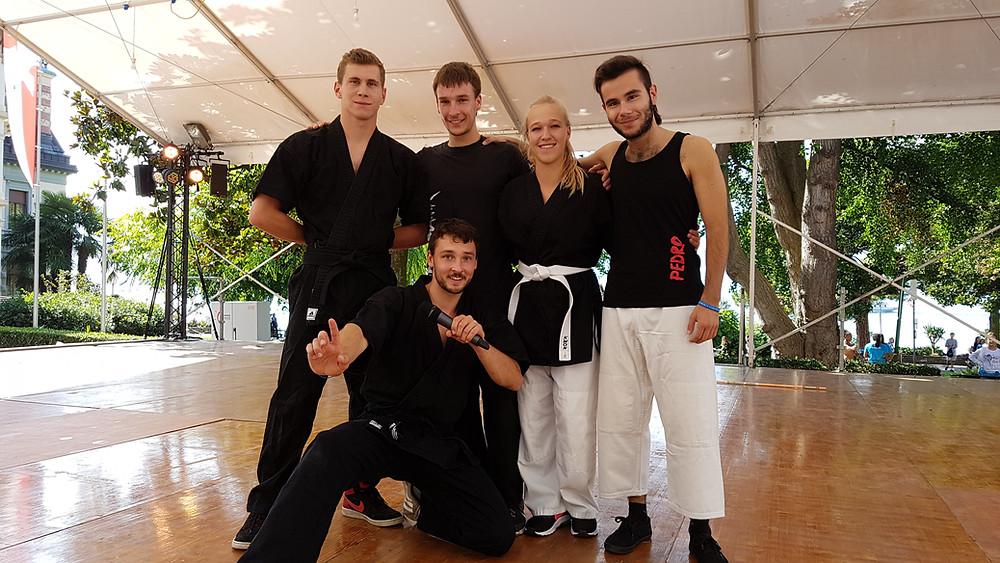 Team STAMA à Montreux