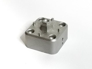 Additive Manufacturing Internal Inspection - Porosity in Aluminum Part