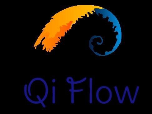 Qi Flow logo