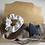 Thumbnail: Sac bandoulière rayures et son chouchou assorti