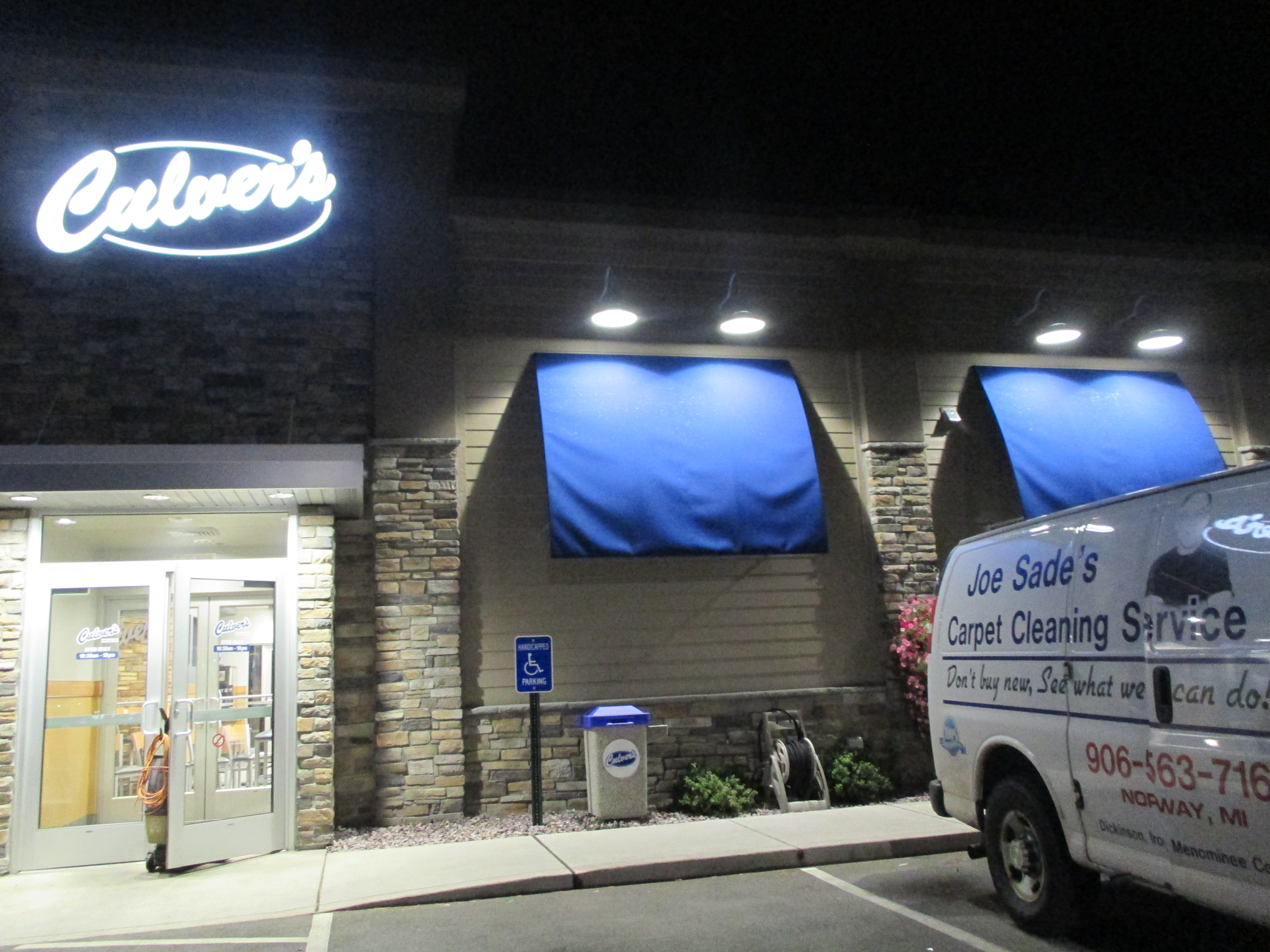 Culver's, what a treat to clean this place!