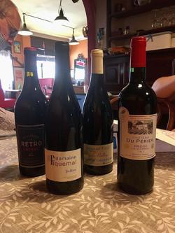 Dégustation vin