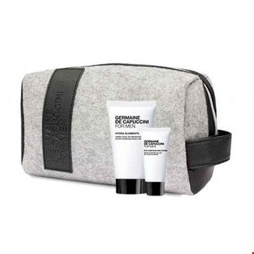 For Men Hydra Elements cream + oogserum promotion