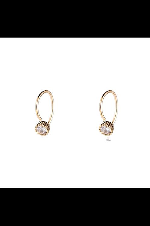 Earrings stone