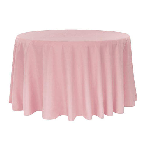 """Polyester Round Tablecloths 120"""""""