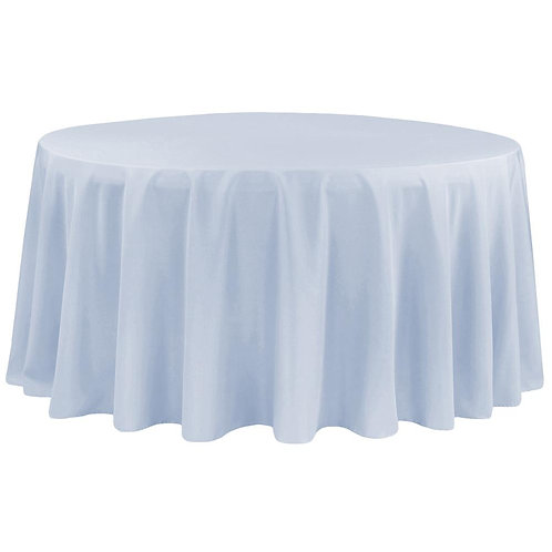 Polyester Round Tablecloth 120""