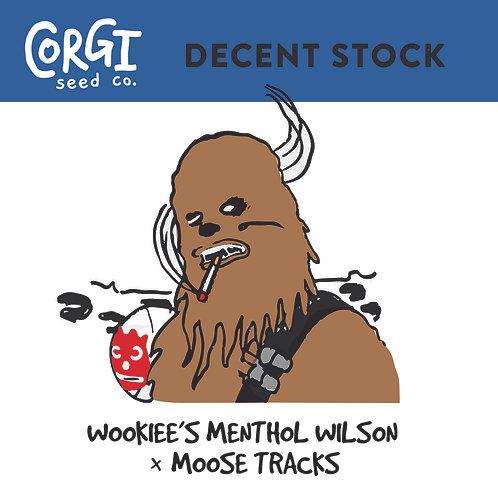 Wookies Menthol Wilson X Moose Tracks