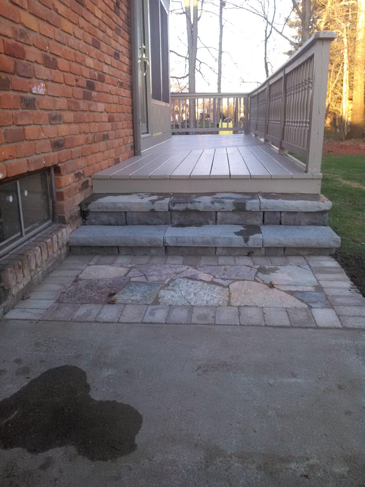 Flagstone Pat/Steps