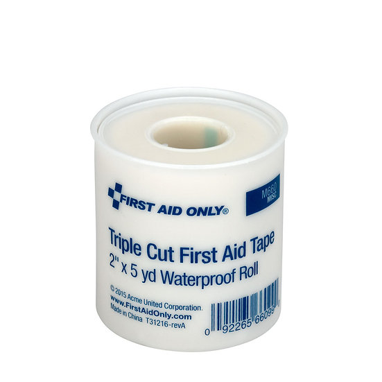 2inch Triple Cut Waterproof First Aid Tape 6/box