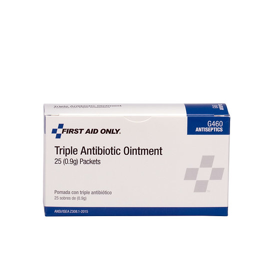 Triple Antibiotic Ointment, 25/box (2)