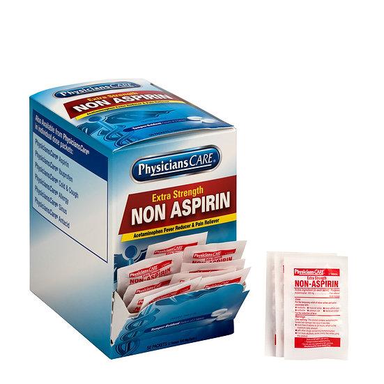 PhysiciansCare Extra Strength Non-Aspirin, 50x2/box