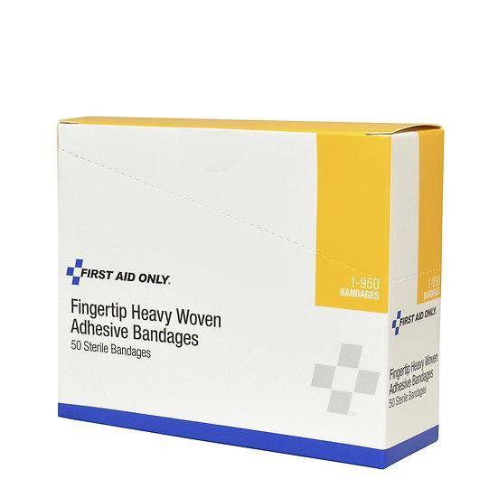 Heavy Woven Fingertip Bandages, 50/box