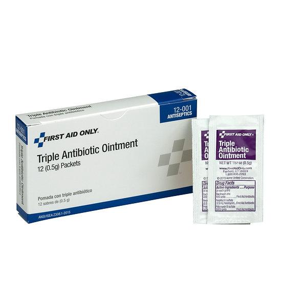 Triple Antibiotic Ointment, 12/box