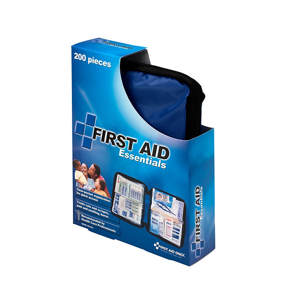 First Aid Kit, 200 Piece, Fabric Case