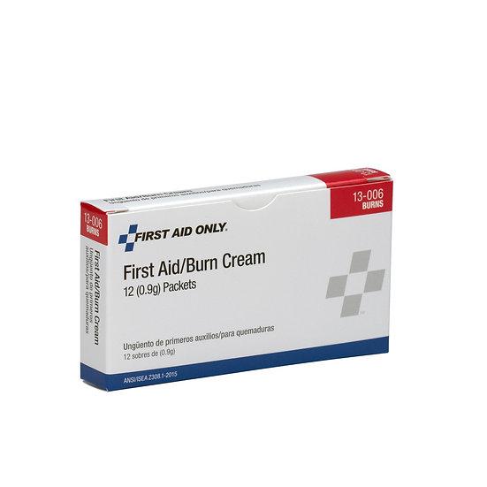 First Aid Burn Cream, 12/box