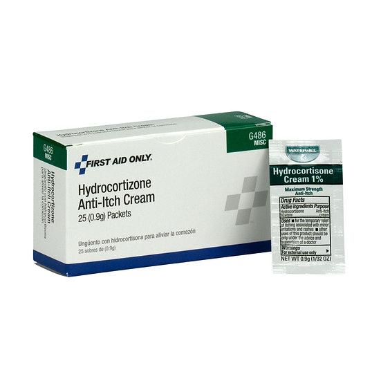 Hydrocortisone Cream, 25/box
