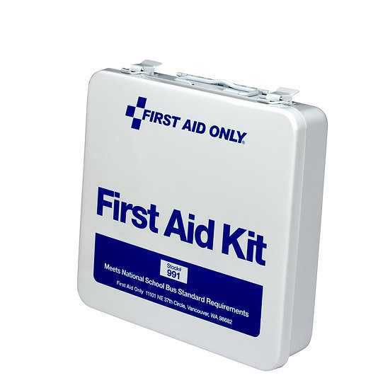 First Aid Kit School Bus 24U Steel Kit