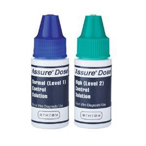 Assure Dose Blood Glucose Normal/ High Level Control 1/Bx