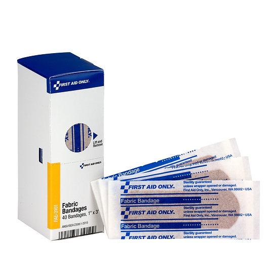 SC Refill Fabric Bandage 1 inch x 3 inch FAE3101