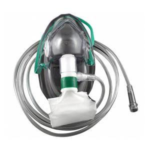Oxygen Mask Elong, Ped Hi Concentrate Non Rebreather 7ft