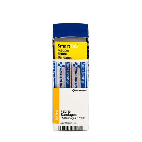 SC Refill Fabric Bandage 1 inch x 3 inch FAE3001